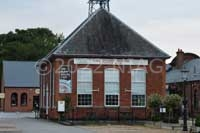 Former pump house of the 1901 Wellingborough Gas Works now converted into a café.