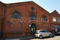 Street frontage of Long Eaton Urban District Council's electricity generating station of 1903