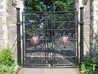 Barwell's gates for the Old Cemetery, Southampton