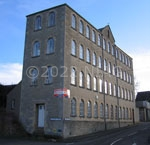 the former Wallis clothing factory, copyright Peter Perkins