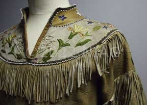 American Indian ladies top seen in the National Leather Collection, Northampton