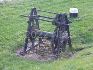 windlass seen on the bank of the River Idle at West Stockwith