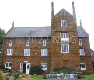 Caley's Mill, Heacham, Norfolk illustrating the use of carstone